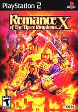 Romance of the Three Kingdoms X (Sony PlayStation 2, 2005)