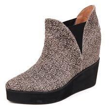 D2214 tronchetto donna JEFFREY CAMPBELL PRIYA beige/nero shoe boot woman