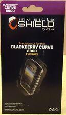 Zagg Invisible Shield Blackberry Curve 8900 Full Body Item A