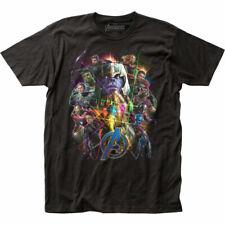 Avengers Endgame Movie Endgame Collage Marvel Officially Licensed Adult T-Shirt