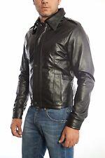 US Men Leather Jacket Hommes veste cuir Herren Lederjacke chaqueta cuero n14p2