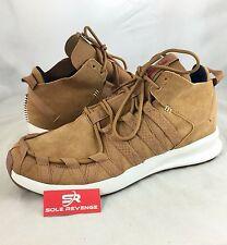 New! adidas Originals SL LOOP MOC Mesa Brown Poppy C77014 Mens flux tubular
