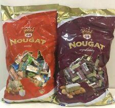 Golden Boronia NOUGAT Original Crunchy & Assoerted 1kg Bulk Bag Australian Made