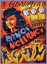 Movie POSTER.Musical film.Spanish.Home Living Room wall decor art print.q623