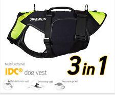 Julius K9 IDC Multifunctional Dog Vest 3in1 Life Vest Rehabilitation Harness NEW