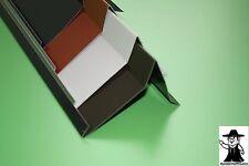 Ortgang Ortgangblech Ortblech Dach Dachblech Alu Aluminium farbig 1m lang 0,7 mm