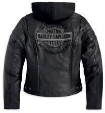 Harley Davidson Miss Enthusiast Leather Jacket B&S XS S M L XL 2XL 1W 98030-12VW