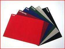 6 x Sticky Back Self Adhesive A4 Sheet Felt Velvet DC FIX Vinyl SPECIAL PRICE