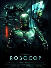 Robocop 1987 Movie Art ED-209 Clarence Boddicker Huge Print POSTER Affiche