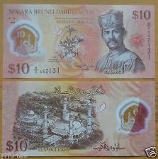 Brunei Polymer Banknote 10 Ringgit 2011 UNC