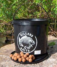 (8,56€/1kg) Carp Killers Banane Fisch Boilies 3,5 kg Eimer - Köder für Karpfen