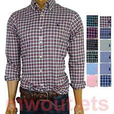 Polo Ralph Lauren MENS LONG SLEEVE STANDARD FIT ButtonDown Shirt Light Weight