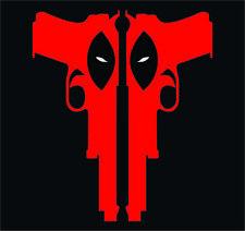 Deadpool Guns Custom T-Shirt Design By TEEIMP.COM