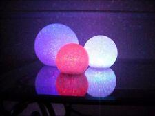 LARGE 20CM X 20CM  4 COLOUR CHANGING LED MOOD LIGHT BALL / GLOBE (3AAA INCL)