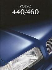 Volvo 440 460 Prospekt 6669-95 brochure 1995 Auto PKWs Autoprospekt Schweden