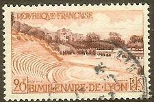 """FRANCE TIMBRE STAMP N°1124 """"THEATRE ANTIQUE DE FOURVIERE, LYON"""" OBLITERE TB"""