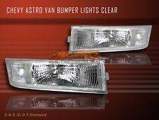 1995 - 2005 CHEVY ASTRO VAN EURO CLEAR BUMPER LIGHTS