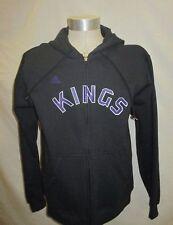 Sacramento Kings NBA Adidas Men's Black Hooded Sweatshirt