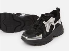 The Kooples Paris UGLY (dad ) Sneakers in Black MSRP $315 made in Portugal