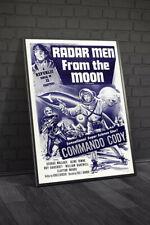 Radar Men From The Moon 1957 Movie Poster Framed