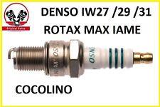 KART ROTAX  DENSO Zündkerze Iridium IW27 IW29 IW31 MAX IAME Tony Kart  spark