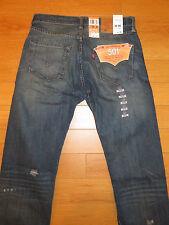 NWT Men's Levi Original 501 Original Fit Straight Leg Jeans (Retail $128)