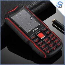 KUH T3 Rugged Phone 2.4 inch Bluetooth Dual SIM FM 32MB+32MB Torch 2400mAh TF 2G