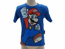 T-Shir Maglia Maglietta Super Mario Bros Nintendo 4 varianti Originale 100 %