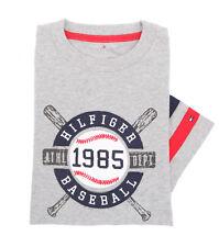Tommy Hilfiger Children Big Boy Crew Neck Logo Tee T-Shirt - Free $0 Shipping