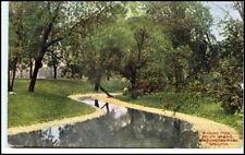 VINTAGE POSTCARD USA America 40/50s Chicago wading pool Washington Park