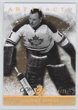 2012-13 Upper Deck Artifacts Gold Spectrum #111 Johnny Bower Toronto Maple Leafs