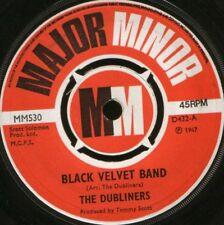 """DUBLINERS black velvet band 7"""" WS EX/ uk major minor MM530"""