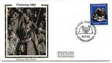 """Canada 974 35c Christmas 1982  Colorano """"Silk"""" cachet FDC"""