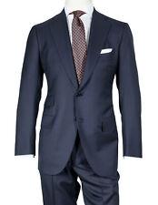 Cesare Attolini Anzug in dunkelblau aus Super 150'S Wolle