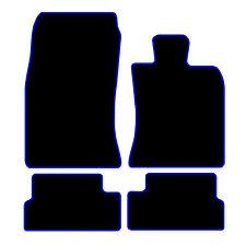MINI R56 2006 a 2014 NERO SU MISURA PER AUTO TAPPETINI tappeti Blu o Rosso bordatura