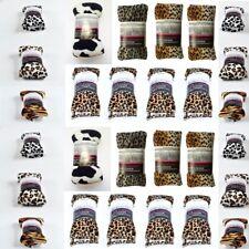 Wheat Heat Pack Animal Print Body Wraps Lavender Microwave Freezable Herbal Bag
