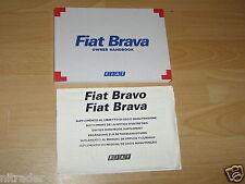 Fiat Brava Owner's Manual Handbook 1996 - 2001 Model