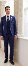 Abito Bluette da sposo Musani completo di panciotto cravatta camicia e pochette