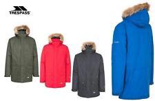Mens Trespass Jaydin Parka Waterproof Jacket | Coat