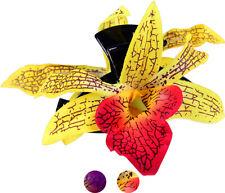 TIKI Flower ORCHIDEEN Blüten Haarspange / Haarblüte Rockabilly