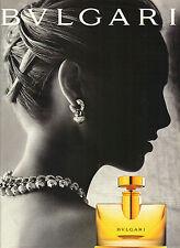 PUBLICITE ADVERTISING  1996   BULGARI   parfum BULGARI