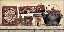 Art Print, Framed or Plaque by Linda Spivey - Self Serve Laundry - LS1315