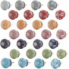 Möbelknopf Porzellan Möbelknauf Schubladen Keramik Vintage Shabby Chic H0-H23