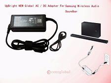 Global AC Adapter For Samsung Soundbar Speaker Sound Bar System HW/PS 19V Series