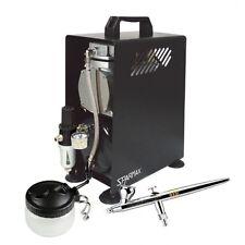 Professional Airbrushing Kit - Evolution CRplus Airbrush & Sparmax Compressor