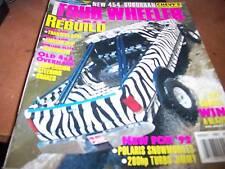 Four Wheeler Magazine Aug 1992 How to Rebuild