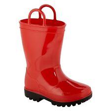 Joe Boxer  Girls Toddler Arcade Rain Boot - RED Size 11