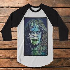 """The Exorcist """"Faithless Slime"""" Baseball Tee Raglan Shirt graphic tee horror"""