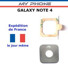 Vitre Camera Samsung GALAXY NOTE 4 Lentille en verre Photo Arrière SM-N910