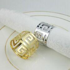 6pcs Napkin Ring Exquisite Wedding Banquet Table Decor Party Serviette Holder